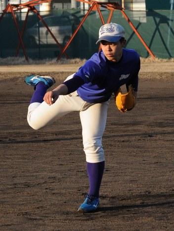 関東一・河合海斗投手
