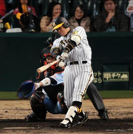 原口文仁  最近では阪神・原口文仁選手が月間MVPを受賞するなど、急成長を見