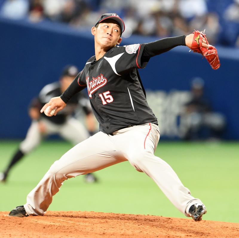 関谷亮太投手 ロッテ