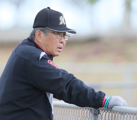 小谷正勝投手コーチ