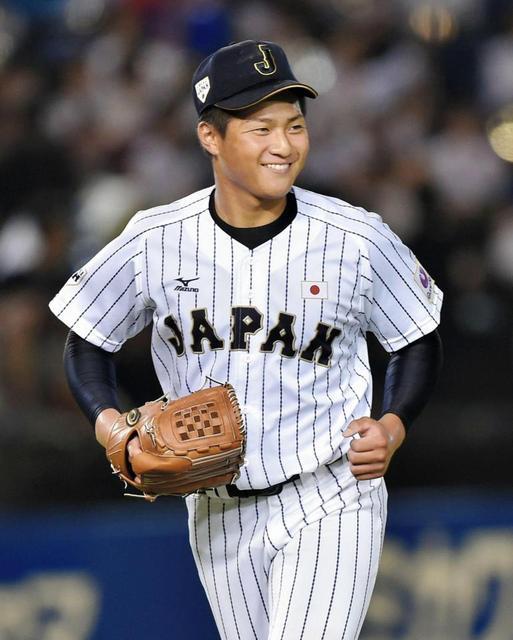 寺島成輝投手(日本代表)