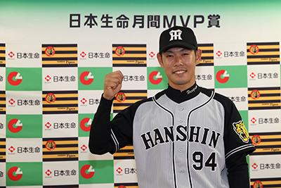 原口文仁(月間MVP)