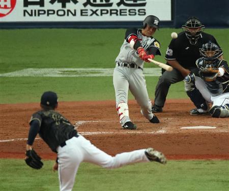糸原 健斗(阪神タイガーズ)侍ジャパン強化試合