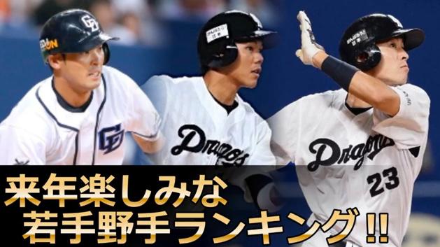打撃投手が選ぶ2017年に活躍しそうな若手野手ランキング!!