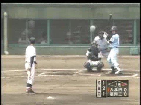 三嶋一輝(2008年春九州大会)福岡工業