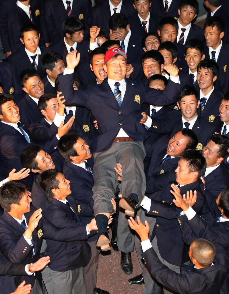 岡田 明丈(大阪商業大)ドラフト1位