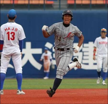 高橋周平(AAAアジア野球選手権)