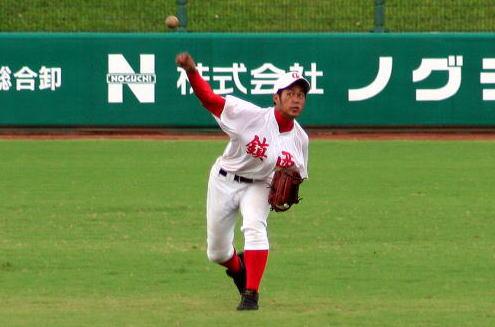 立岡宗一郎(熊本・鎮西高校)