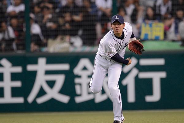 秋山翔吾(埼玉西武ライオンズ)