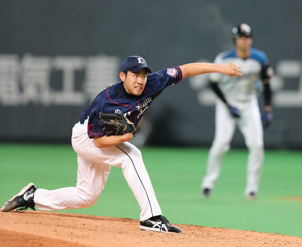 菊池雄星(埼玉西武ライオンズ)開幕投手
