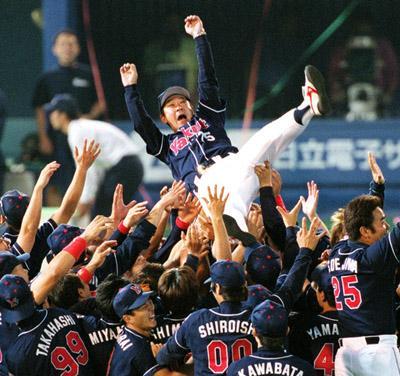 2001年ヤクルト優勝